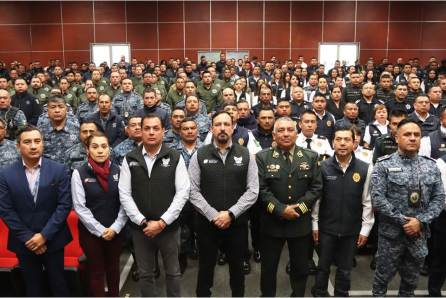 Arranca SSPH año de capacitación y profesionalización a cuerpos policiales