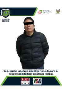 Asegura Policía de Género de la SSPH a hombre por presunta violencia intrafamiliar