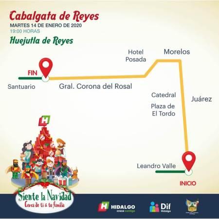 Cabalgata de Reyes Huejutla
