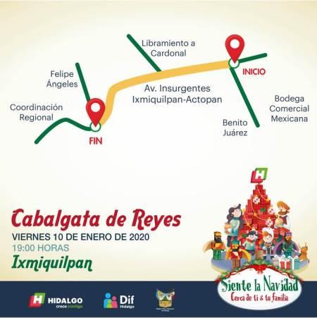 Cabalgata de Reyes Ixmiquilpan