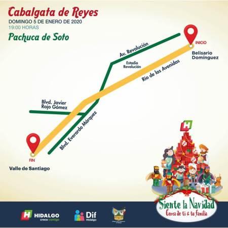 Cabalgata de Reyes Pachuca