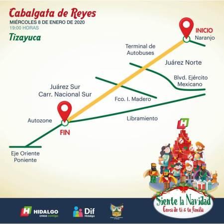 Cabalgata de Reyes Tizayuca