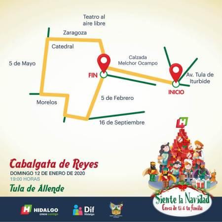 Cabalgata de Reyes Tula