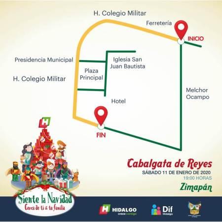 Cabalgata de Reyes Zimapan
