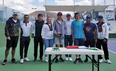 Confirmados los tenistas hidalguenses clasificados al Macro Regional 2020