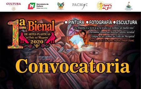 Convoca Cultura a primera Bienal de Artes Plásticas del Valle del Mezquital