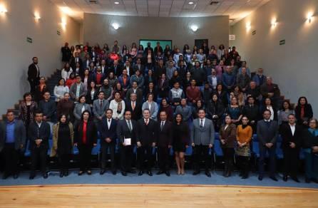 Destacan académicos e infraestructura en tercer informe de ICSHu4