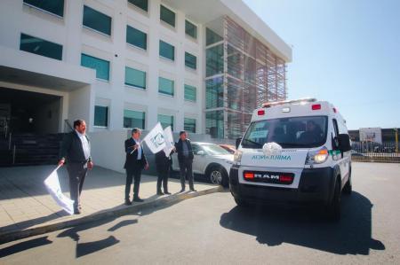 Destina IMSS nueva ambulancia para el Hospital Rural No. 21 en Huejutla