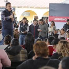 En audiencia ciudadana, reúne gobernador Omar Fayad a más de 2,600 habitantes de siete municipios 2