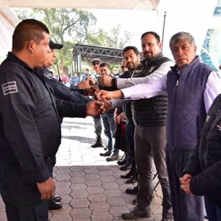 Entrega en Tizayuca nuevo equipamiento en materia de Seguridad Pública4