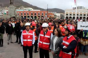 Gobierno de Hidalgo participa en primer Macro Simulacro Nacional 2020-1