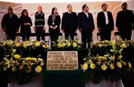 Gobiernos federal y estatal participaron en remembranza colectiva, a un año de la explosión en Tlahuelilpan4