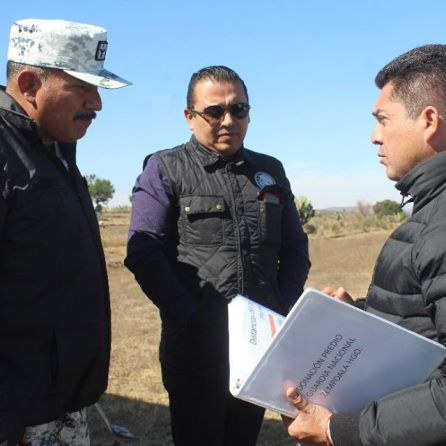 Héctor Meneses se reune con guardia nacional