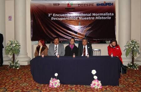Hidalgo, sede del 2º Encuentro Nacional Normalista de la licenciatura de Historia