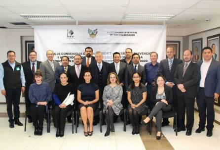 IEEH y PGJEH firman convenio de colaboración4