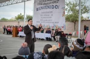 Inaugura alcalde Raúl Camacho Espacio de Alimentación Encuentro y Desarrollo en Mineral de la Reforma1