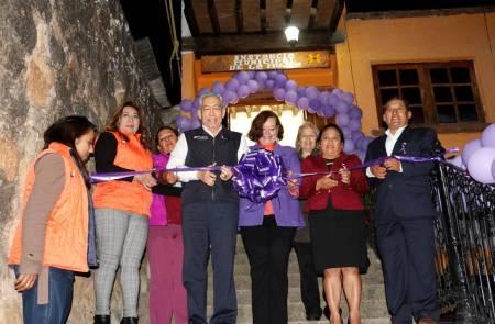 Inauguran Módulo de Atención Especializada a Mujeres en situación de violencia en Huasca de Ocampo1