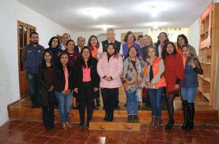 Inauguran Módulo de Atención Especializada a Mujeres en situación de violencia en Huasca de Ocampo3