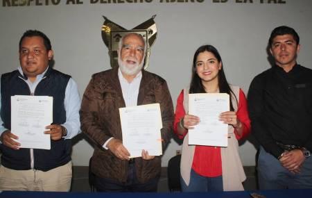 INHIDE firma convenio con el municipio de Tecozautla para la creación de escuelas de iniciación1