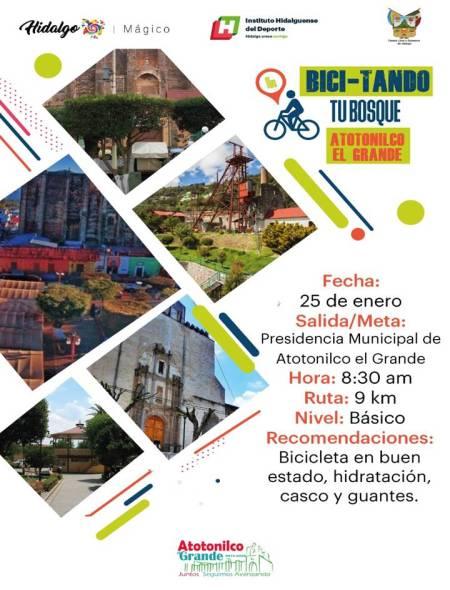 "INHIDE invita al próximo paseo ciclista ""Bici-tando tu Bosque"""
