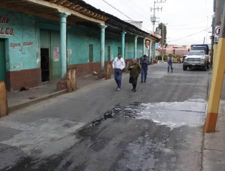 Inicia Obras Públicas 2 obras de pavimentación en Atotonilco el Grande2