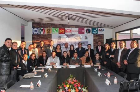 Instalan Consejo Electoral Municipal en Mineral de la Reforma