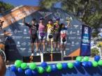 La delegación hidalguense de ciclismo participó en la primera copa nacional de MTB3