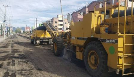 Obras Públicas estatal inicia con la rehabilitación de la avenida del Palmar 1
