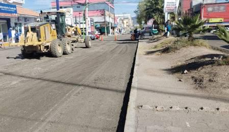 Obras Públicas estatal inicia con la rehabilitación de la avenida del Palmar 2