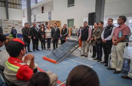 Ofrece Mineral de la Reforma calentadores solares a bajo costo 2020-1