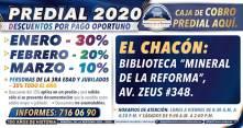 Ofrece Mineral de la Reforma, descuentos en pago predial 2020 y ventanillas de cobro en colonias