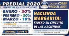 Ofrece Mineral de la Reforma, descuentos en pago predial 2020 y ventanillas de cobro en colonias2