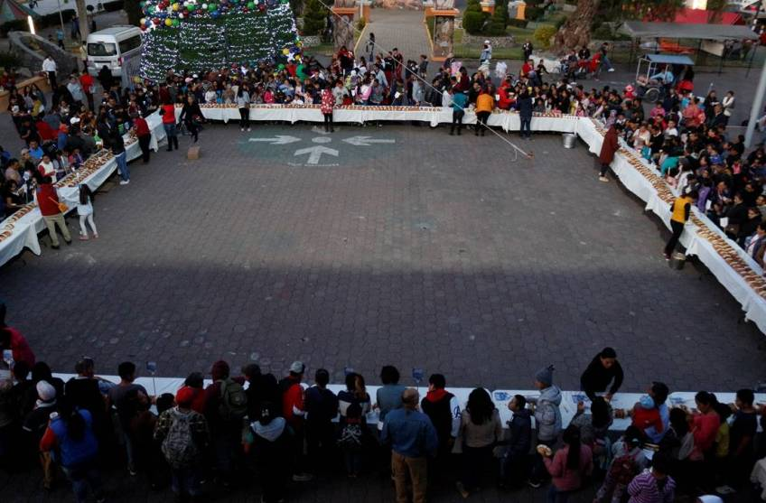 Parten Monumental Rosca De Reyes En Tizayuca 1