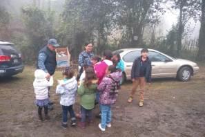 Policía Estatal entrega juguetes y ropa a niños escasos recursos