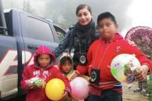 Policía Estatal entrega juguetes y ropa a niños escasos recursos5