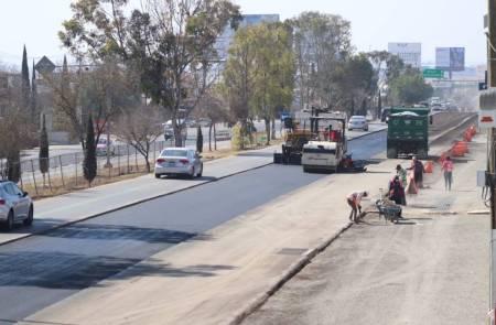 Por trabajos de repavimentación, miércoles 8 y jueves 9 de enero cerraran dos carriles de la carretera México-Pachuca .jpg