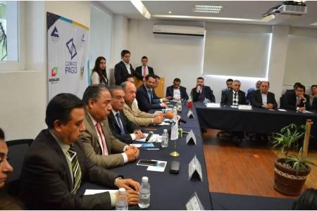 Presenta Canaco Pachuca pago, evolución digital para negocios locales