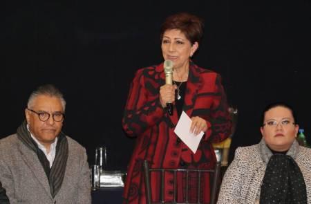 Ratifica presidenta del TSJEH apoyo al Reto de 100 Días en Tula