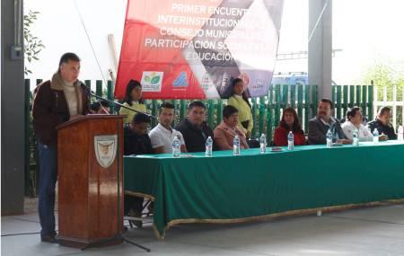 Realizan en Tizayuca el Segundo Encuentro Interinstitucional del Consejo Municipal de Participación Social en la Educación1