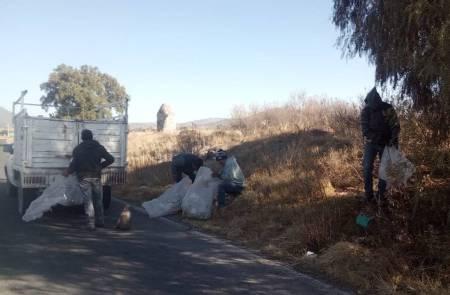 Realizan jornadas de limpieza en Tolcayuca, en pro del medio ambiente1