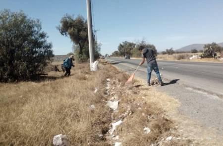 Realizan jornadas de limpieza en Tolcayuca, en pro del medio ambiente2