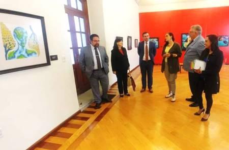 Recibe UAEH delegación de la embajada de Georgia