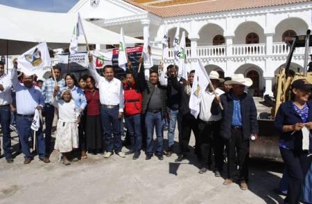SOPOT beneficia con obras a la comunidad de El Alberto en Ixmiquilpan2