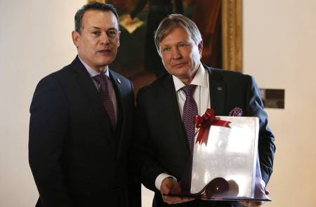 Visita embajador de Rusia a la UAEH1