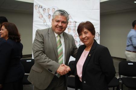 Claudia Díaz Pérez tomó posesión como nueva titular de la representación del IMSS en Hidalgo