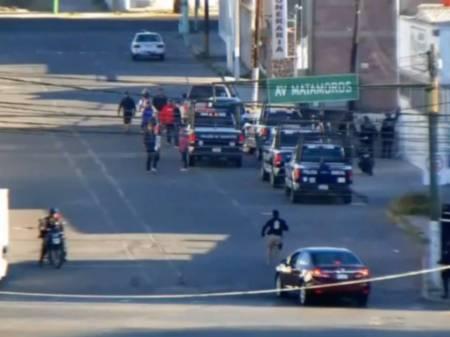 Con C5i de Hidalgo y operativo policial frustran robo a bodega; 12 detenidos