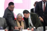 Concluyeron los trabajos de la Plenaria del grupo parlamentario de Morena en el Senado, con diversas mesas de trabajo relevantes para México3