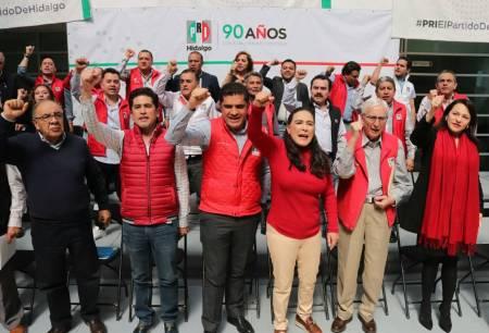 El Partido Revolucionario Institucional aplaza registro de candidaturas