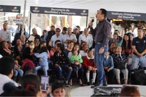 Encabeza gobernador Omar Fayad 5ª audiencia ciudadana y lleva oportunidades y servicios a 3,000 hidalguenses de 4 municipios