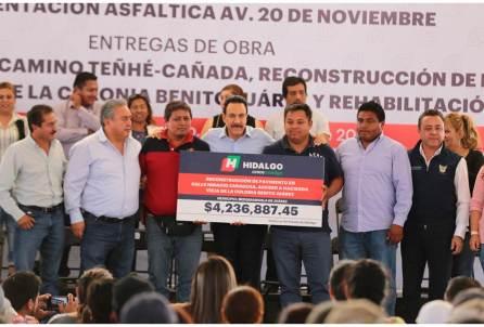 Entrega Fayad obras en Mixquiahuala por un monto de 25.5 mdp4